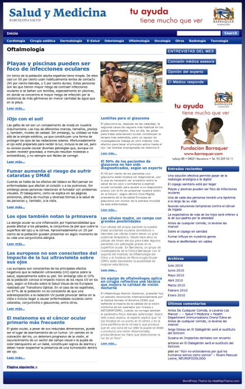 Personalización de WordPress para conseguir aspecto magazine ...